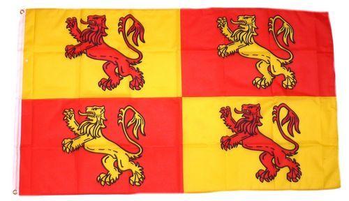 Fahne / Flagge England - Owain Glyndwr 90 x 150 cm