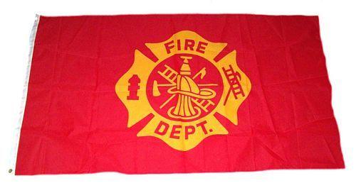 Fahne / Flagge Feuerwehr 90 x 150 cm