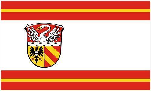 Fahnen Flagge Kreis Bergstraße Digitaldruck 90 x 150 cm