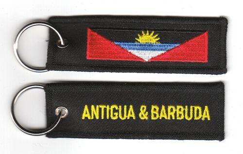 Fahnen Schlüsselanhänger Antigua & Barbuda
