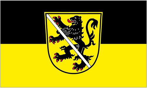 Flagge / Fahne Herzogenaurach 90 x 150 cm