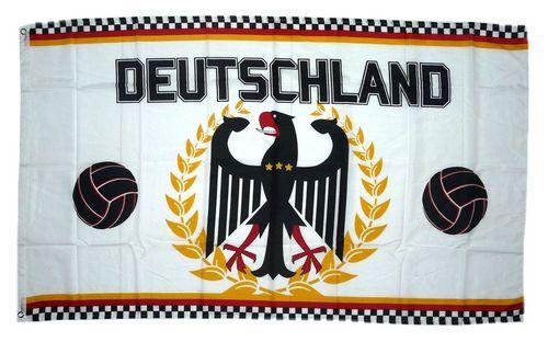 Fahne / Flagge Deutschland Fußball Adler 90 x 150 cm