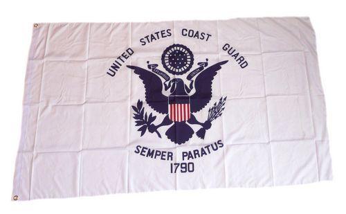 Fahne / Flagge US Coast Guard 90 x 150 cm