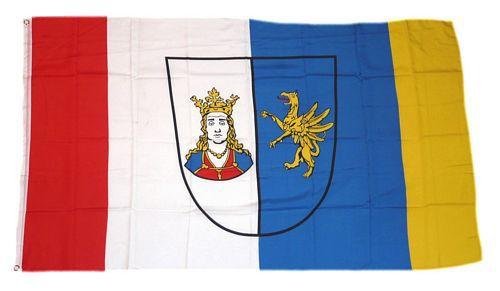 Flagge / Fahne Ribnitz Damgarten Hissflagge 90 x 150 cm