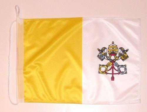Bootsflagge Vatikan 30 x 45 cm