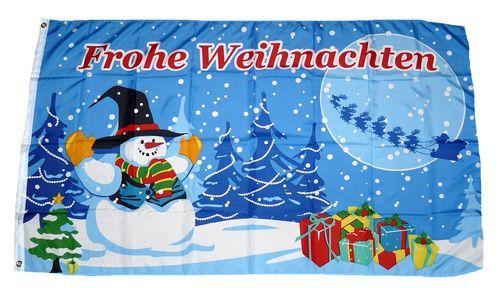 Fahne / Flagge Weihnachten Geschenke 90 x 150 cm