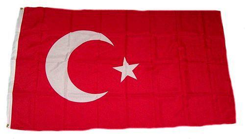 Flagge / Fahne Türkei Hissflagge 90 x 150 cm