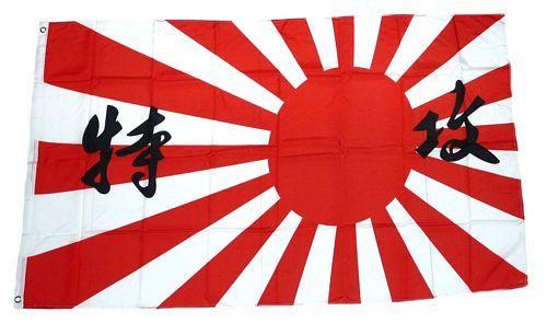 Fahne / Flagge Japan Kamikaze 90 x 150 cm