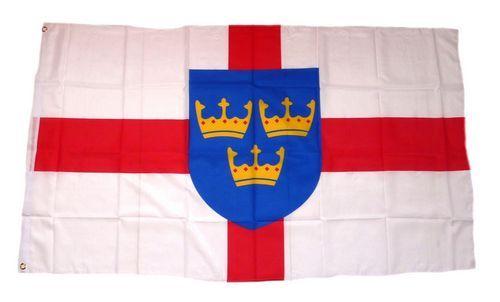 Fahne / Flagge England - East Anglia 90 x 150 cm