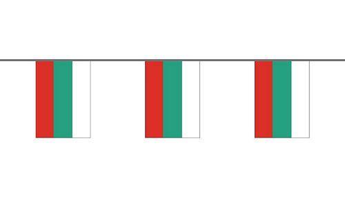 Flaggenkette Bulgarien 6 m