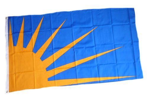 Fahne / Flagge Irland - Sunburst 90 x 150 cm