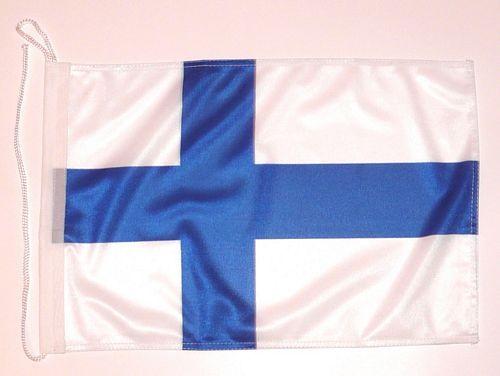 Bootsflagge Finnland 30 x 45 cm