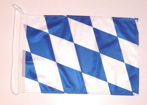 Bootsflagge Freistaat Bayern Raute 30 x 45 cm