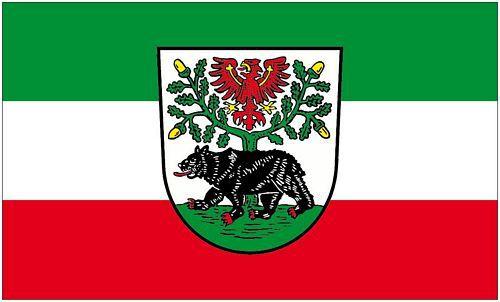 Flagge Fahne Bernau bei Berlin 90 x 150 cm