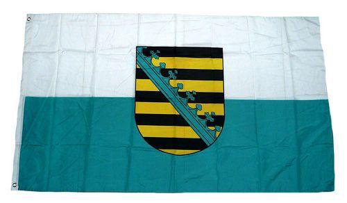 Flagge / Fahne Sachsen Hissflagge 90 x 150 cm
