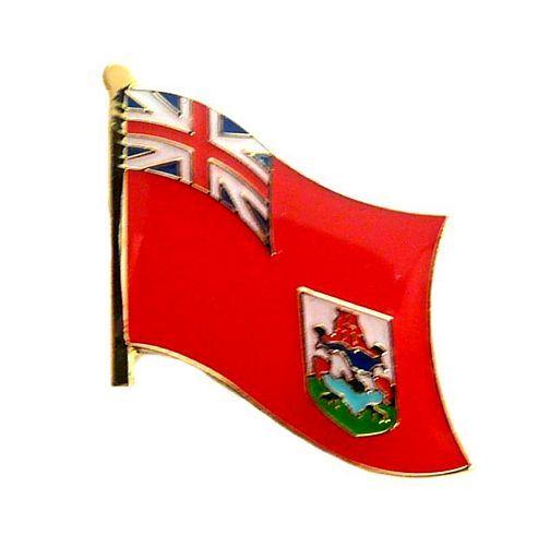 Fahnen Anstecker Pin Bermuda Inseln