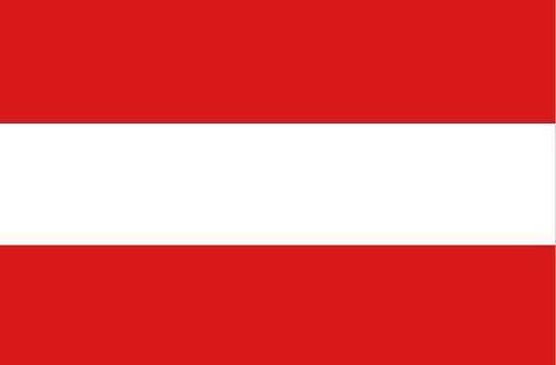 Fahnen Aufkleber Sticker Österreich