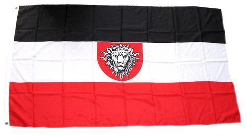 Fahne / Flagge Deutsch Kamerun 150 x 250 cm