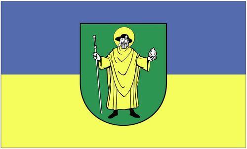 Fahne / Flagge Mücheln 90 x 150 cm