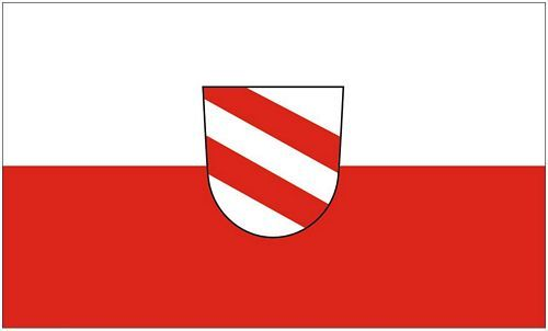 Fahne / Flagge Landau an der Isar 90 x 150 cm