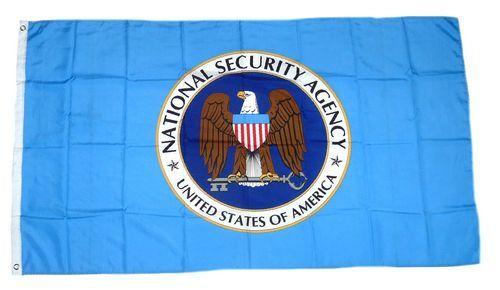 Fahne / Flagge USA - NSA 90 x 150 cm