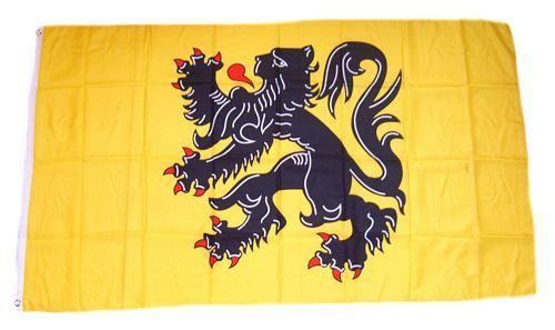 Fahne / Flagge Belgien - Flandern 90 x 150 cm