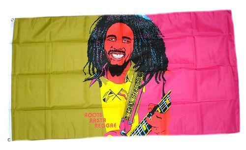 Fahne / Flagge Bob Marley Gitarre 90 x 150 cm