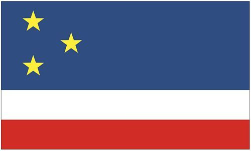 Fahne / Flagge Gagausien 90 x 150 cm