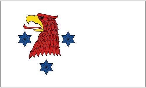 Fahne / Flagge Rathenow 90 x 150 cm