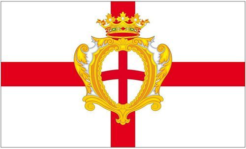 Fahne / Flagge Italien - Padua 90 x 150 cm