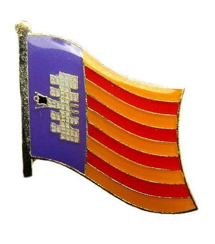 Katalonien Estelada Blava Anstecker Flagge Fahne Fahnen Pin Spanien