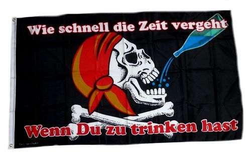 Fahne / Flagge Pirat Zeit 90 x 150 cm