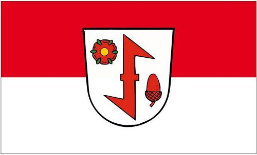 Fahne / Flagge Idar Oberstein 90 x 150 cm