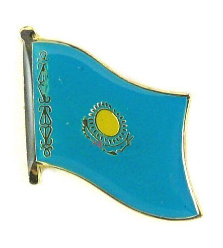 Flaggen Pin Fahne Kasachstan Pins Anstecknadel Flagge