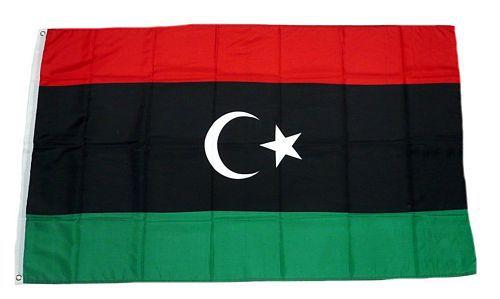 Flagge / Fahne Libyen Hissflagge 90 x 150 cm