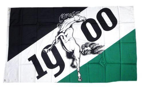 Fahne / Flagge Mönchengladbach 1900 Fan 90 x 150 cm