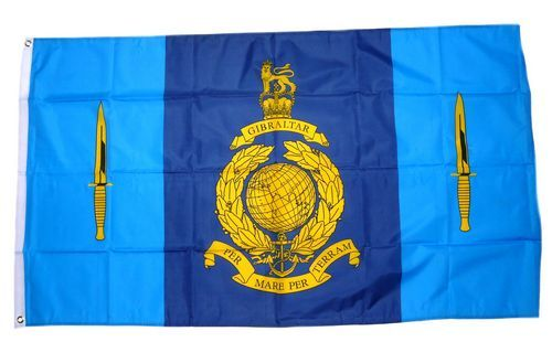 Fahne / Flagge Großbritannien 40 Commando Royal Marines 90 x 150 cm