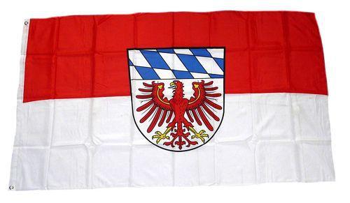 Flagge / Fahne Landkreis Bayreuth Hissflagge 90 x 150 cm