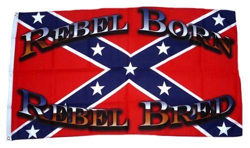 Fahne / Flagge Südstaaten - Rebell born 90 x 150 cm