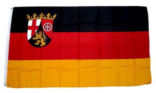 Flagge / Fahne Rheinland Pfalz Hissflagge 90 x 150 cm