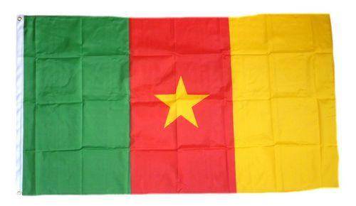 Flagge / Fahne Kamerun Hissflagge 90 x 150 cm