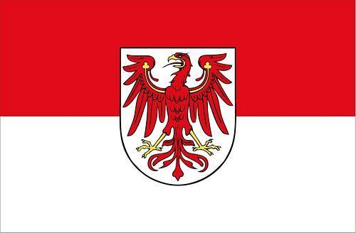 Fahnen Aufkleber Sticker Brandenburg