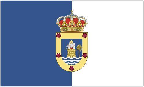 Fahne / Flagge Spanien - La Palma 90 x 150 cm