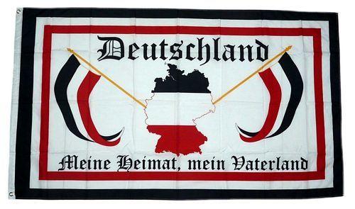 Fahne Flagge Deutschland Meine Heimat Mein Vaterland