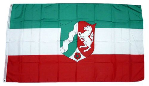 Flagge / Fahne Nordrhein Westfalen Hissflagge 90 x 150 cm