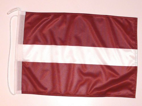 Bootsflagge Lettland 30 x 45 cm