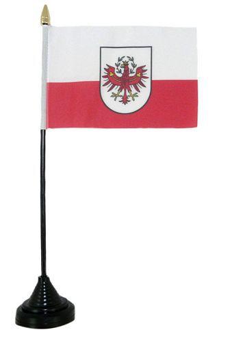 Tischfahne Österreich - Tirol 11 x 16 cm Fahne Flagge