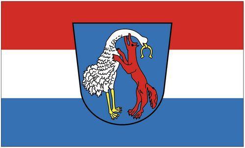 Fahne / Flagge Vohenstrauß 90 x 150 cm