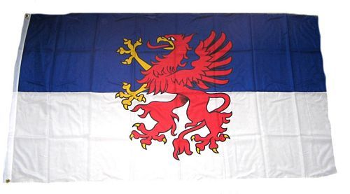 Fahne / Flagge Pommern 150 x 250 cm