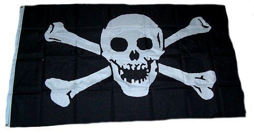 Fahne / Flagge Pirat Seeräuber 90 x 150 cm